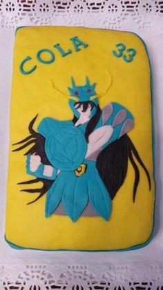 Qué recuerdos hacer esta tarta sobre Los Caballeros del Zodiaco!