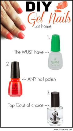 How to get a gel-like mani at home {SC082714}