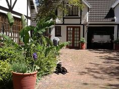 Cape Tudor Lodge - Cape Tudor Lodge Unit 1  The property has secure parking behind closed gates, is surrounded by a beautiful garden with parking in the driveway.   Close to shops, Malls, golf clubs, restaurants', chemist ... #weekendgetaways #somersetwest #southafrica