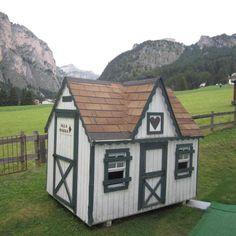 Where the dwarfs sleep #biancaneve #Dolomites