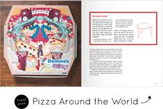 The Art of Pizza Box Pizza Boxes, Graphic Design Illustration, Packaging, Baseball Cards, History, Creative, Books, Image, Art