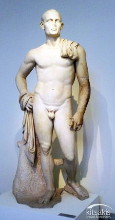 Greek ancient statue, National Archaeological Museum of Athens, Greece #kitsakis