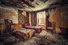 Mesmo desintegrados, os hotéis não perdem a beleza