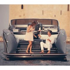 The perfect evening aboard a Riva