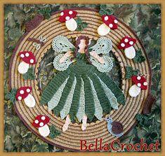 Woodland Fairy Doily