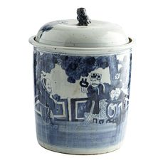 HAND-PAINTED DRAGON GINGER JAR - NEW