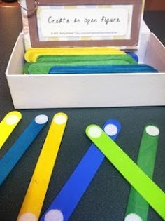 Popsicle Sticks Patterning Video and Freebie!