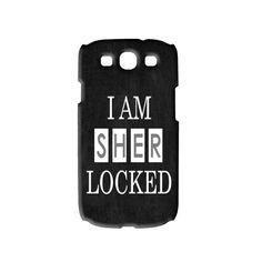 a Sher-Locked Galaxy S3 phone case on Ebay