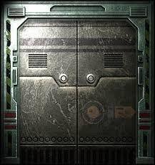 Image result for sci fi corridor  door