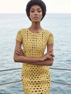 """.: Um bate-papo com a modelo britânica Jourdan Dunn, capa da """"Vogue Brasil"""""""