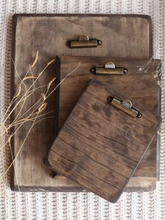 Wooden Photo Clipboard Trio Package