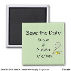 Save the Date Tennis