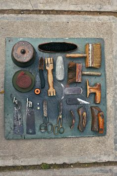 The hat-maker tools    Sibiu, Romania, Virgil Ilieş #millinery #judithm #hats