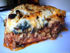 "Sweet Potato ""Lasagna"" from @Healthi linguist"