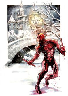 Daredevil Winter Wonderland byDaniel Govar