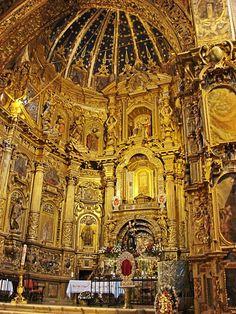 """Interior Iglesia """"San Fransisco"""" """"Quito"""" """"Ecuador"""""""