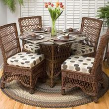 Cool Dining Room Tables & Wicker Dining Room Chairs for Eating Areas
