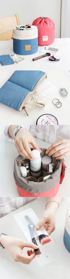 US$8.47 Woman Cosmetic Storage Kit Toiletry Kit Bathroom Amenities Travel Storage Bag