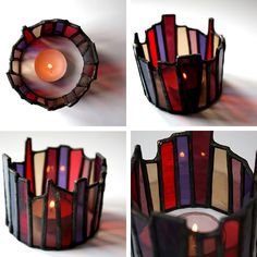 Candle Crowns - Glass Art