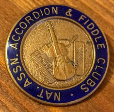 Now available on our website: National Associat... Have a look here http://thereedlounge.com/products/national-association-of-accordion-and-fiddle-clubs-vintage-enamal-and-metal-badge?utm_campaign=social_autopilot&utm_source=pin&utm_medium=pin