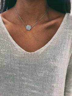 Aster Mandala Necklace