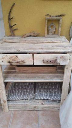Plus de 1000 id es propos de bois palette wood sur - Comment faire un ilot central ...