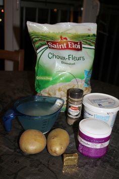 Cream of cauliflower cream soup - catcuisine - - Best Soup Recipes, Healthy Soup Recipes, Snack Recipes, Crock Pot Tacos, Crock Pot Soup, Slow Cooker Pork, Slow Cooker Recipes, Coconut Curry Vegetarian, Vegetable Lunch