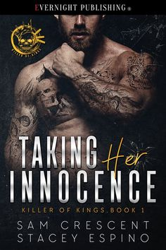 Taking Her Innocence by Sam Crescent and Stacey Espino - Evernight Publishing I Love Books, Good Books, Books To Read, My Books, Paranormal Romance Books, Romance Novels, King Book, Book 1, Contemporary Romance Books