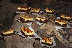 Tentações Sobre a Mesa: Cheesecake Brownie - Bolo de Queijo e Chocolate