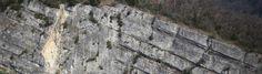 Inspection de falaise par drone pour détection de failles rocheuses