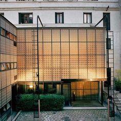 Maison de Verre, Designed by Pierre Chareau and Bernard Bijvoet - Atelier Doré