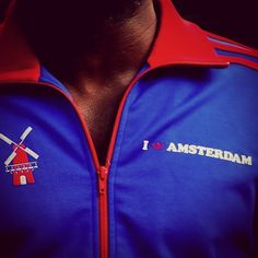 """@EnLawded.com's photo: """"The #Adidas I #Love #Amsterdam #City #Windmill #Netherlands #Dutch #Swag #Holland #Nederlanden Track Top by @EnLawded.com ! A #Rare #Retro #Vintage #Collector"""""""