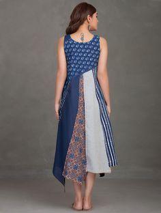 Ideas Patchwork Dress Boho Patterns For 2019 Batik Fashion, Fashion Sewing, Batik Dress, Patchwork Dress, Cotton Dresses Online, Dress Online, Kurta Designs, Indian Designer Wear, Simple Dresses