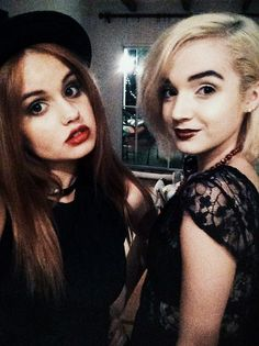 Debby Ryan and Poppy