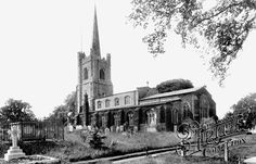 Photo of Hornchurch, St Andrew's Church 1908 St Andrews, Ancestry, Sally, Childhood Memories, Notre Dame, Stamping, Scotland, Ireland, London