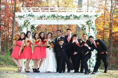 Fall Weddings in our Beautiful Gardens