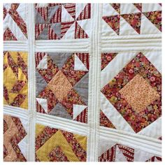 Quilt As You Go with Wide Sashing Tutorial | FaveQuilts.com