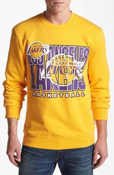 Vintage Lakers sweatshirt. Yes.