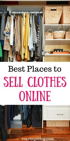 Sell Clothes Online: Looking to sell some of your clothes to earn extra cash? Check out the Best Places to Sell Clothes Online!