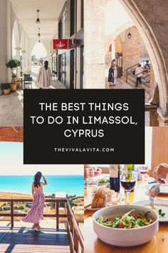 What to do in Limassol? Here are top picks on what to see, do and where to eat in Limassol written by a local expat. #limassol #cyprus #cyprusguide #cyprustravel #limasssolcyprus #kourion #limassolcity #limassolmarina #limassolrestaurants Stuff To Do, Things To Do, Good Things, Limassol Cyprus, Old Town, Travel Guide, Eat, Things To Make, Old City