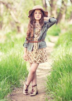 Tween Boho Hat Tan<br>Now In Stock