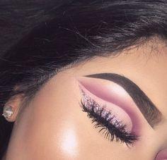 ひ pinterest : prvncesss ひ Dope Makeup, Makeup On Fleek, Flawless Makeup, Glam Makeup, Gorgeous Makeup, Pretty Makeup, Skin Makeup, Eyeshadow Makeup, Makeup Inspo