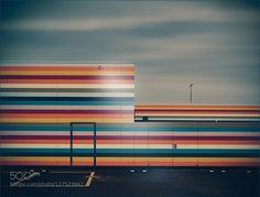 ColorLinesBlues II Close to the Berlin Brandenburg Airport.