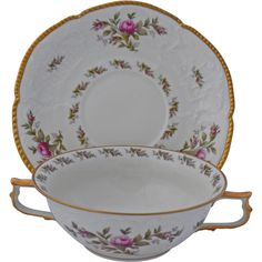 Rosenthal 21 cm Teller classic rose collection weiß