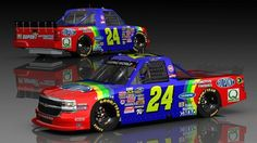 Nascar Trucks, Nascar Race Cars, Nascar Fantasy, Jr Motorsports, Jeff Gordon Nascar, Farm Toys, Car Painting, Paint Schemes, Concept Cars