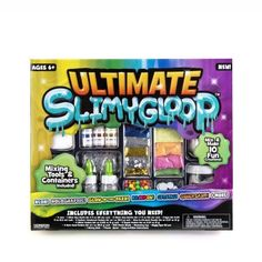 Ultimate D. Slimygloop, Slime Kit, Ages Create Colorful Slimes, Slime and Accessories, Sensory Toys Colorful Slime, Slime Kit, Slime Shops, Hobbies And Interests, Science Kits, Ride On Toys, Sensory Toys, Day Wishes, Kids Christmas