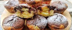 Puha muffin vaníliapudinggal töltve – A tésztája is kétféle ízben készül - Receptek   Sóbors Muffin, Cobbler, Cake Recipes, Food And Drink, Cookies, Breakfast, Crack Crackers, Morning Coffee, Easy Cake Recipes