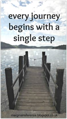 Every journey begins with a single step  #travel #journey #hope marginal reference.blogspot.co.uk