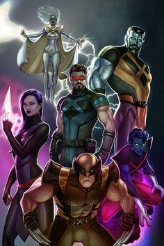 Xmen by pretty-cool-huh on DeviantArt Xman Marvel, Marvel Xmen, Marvel Comics Art, Marvel Comic Universe, Marvel Heroes, X Men Evolution, Comic Book Characters, Marvel Characters, Comic Books