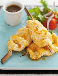 Citrus Lemon Sole Skewers - Sweet Citrus marinated Lemon Sole for easy grilling or barbecue. Quick to prepare and grill for delicious dish. - www.fishisthedish.co.uk/recipes/citrus-lemon-sole-skewers
